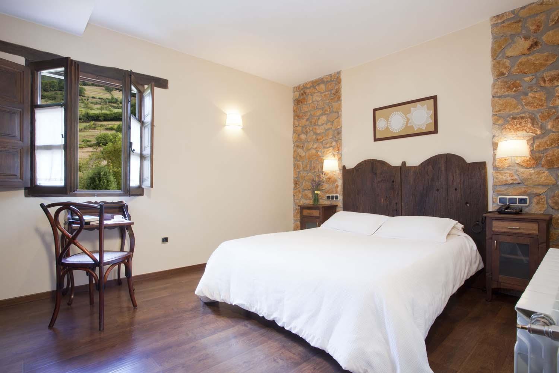 Habitación doble nº 11. Hotel rural El Fundil
